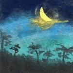 新月へ~旅する夏の月~